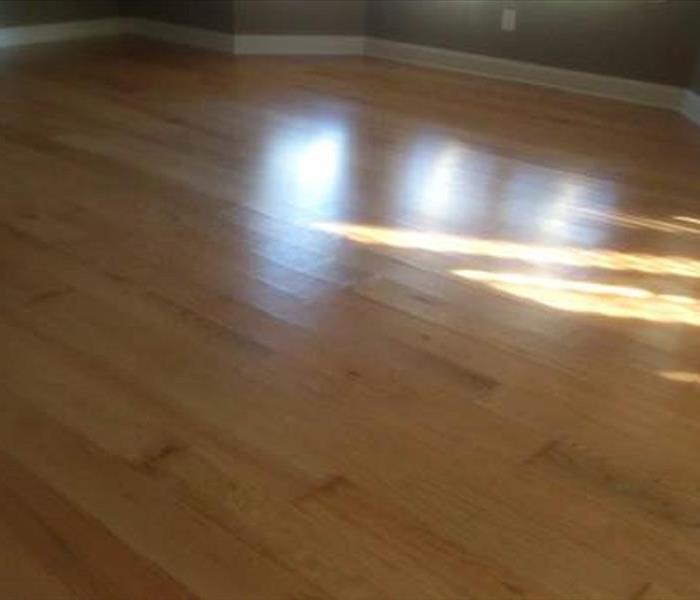 Hard wood floors in Durham, NC Before