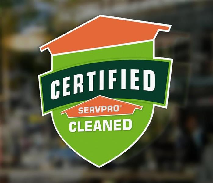 Certified: SERVPRO Cleaned