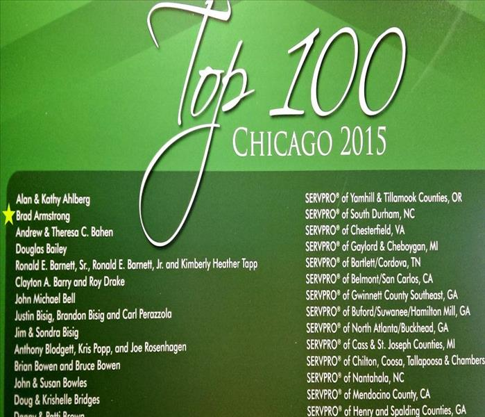 Community Top 100: SERVPRO of South Durham & Orange County