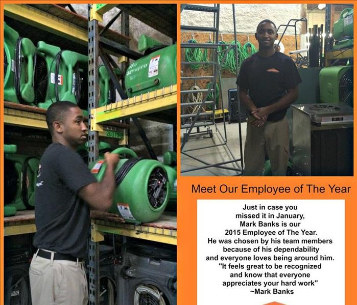 General 2015 Employee of the Year SERVPRO of South Durham & Orange County